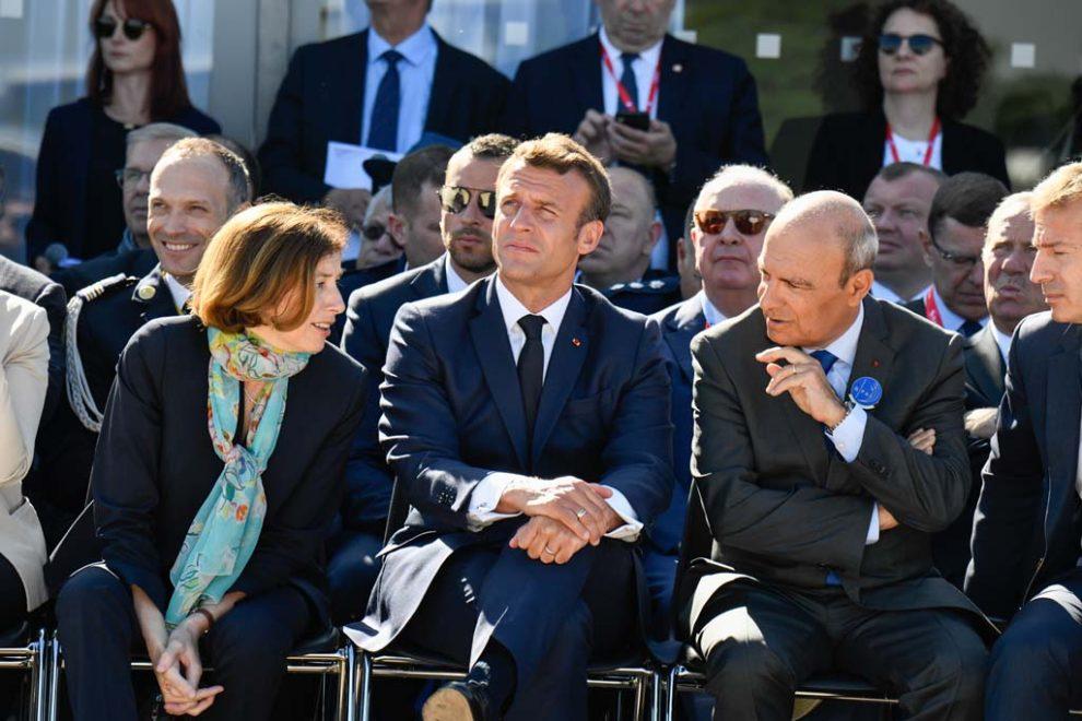 Florence Parly, ministra de Defensa de Francia, en Le Bourget 2019.