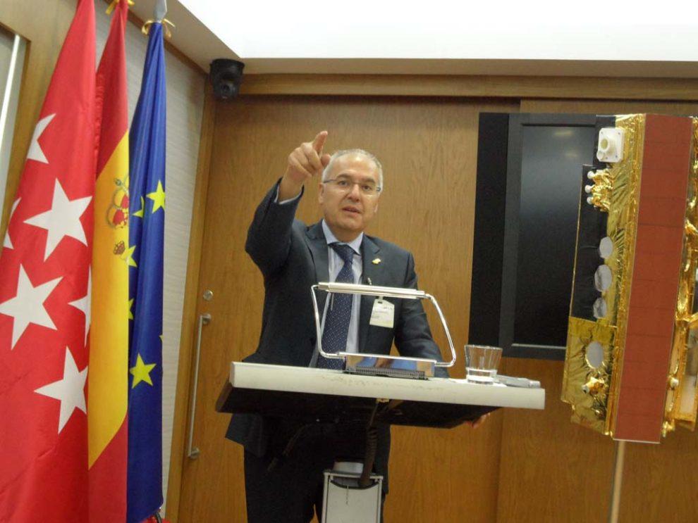 Ángel Panduro, CEO de Hisdesat.