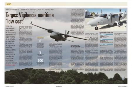 Indra ofrece su avión de patrulla marítima ahora también en versión UAV.