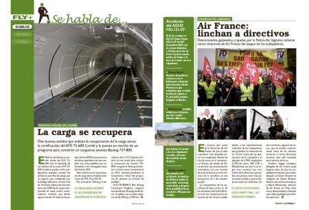 ATR y Boeing lanzan nuevas versiones de carga y los directivos de Air France casi son linchados.