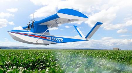 El Flyox I se diseñó como UAV apagafuegos pero puede ser adaptado para otros usos como la fumigación.