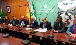 Altran España e IDEA firman acuerdo para desarrollar un centro de I+D+i de fabricación aeronáutica en Andalucía.