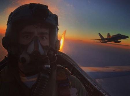 Foto del perfil del teniente Pérez Serrano en sus redes sociales