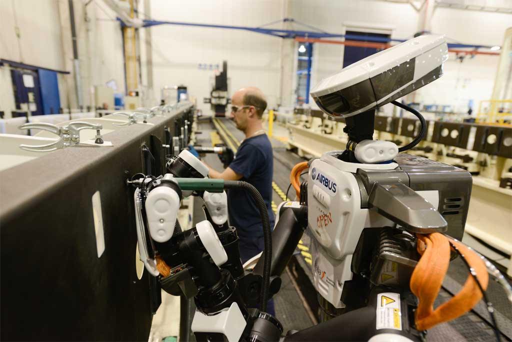 La factoría de Airbus en Puerto Real lidera un proyecto para la utilización de robots en