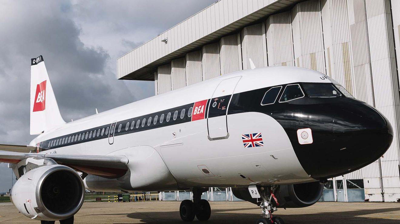 Durante el próximo año el A319 retro de British Airways volará en las rutas europeas de la aerolínea.