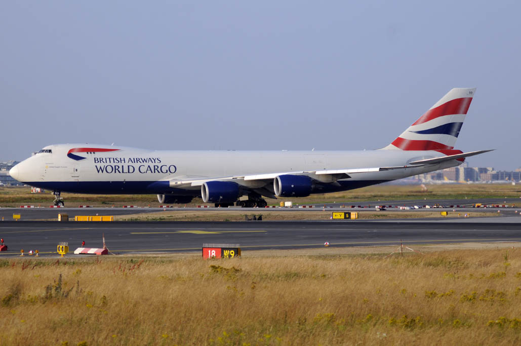 Boeing 747-8F de GSS.
