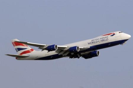 Boeing 747-8F G-GSSE