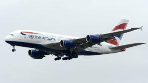 El segundo de los A380 de British Airways que llegará a Barajas.