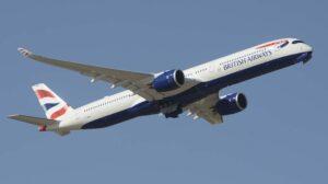 Airbus A350 de British Airways.