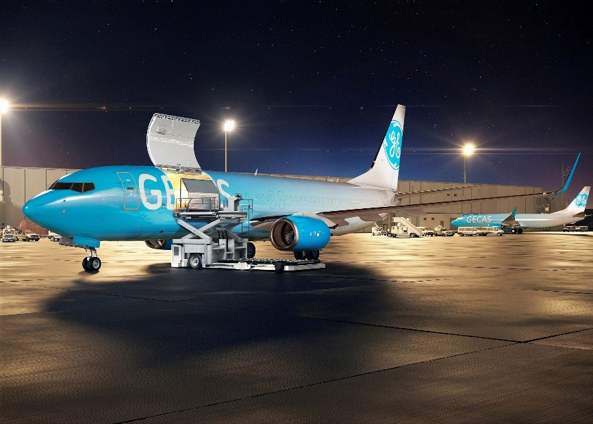 GECAS es una de las mayores empresas de leasing de aviones del mundo.º