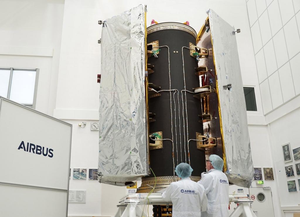 Prueba de la estructura realizada en España con modelos de los satélites GRACE-FO.