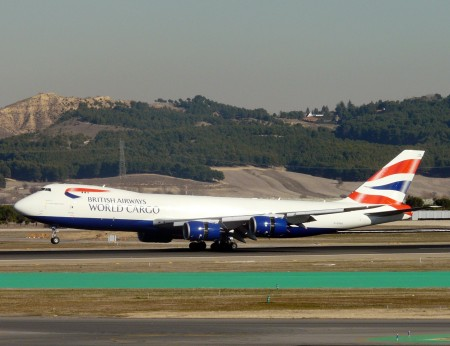 Boeing 747.8F de British Airways Cargo