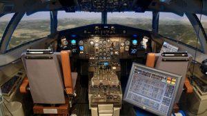 Simulador de ATR 72-500 de GTA.