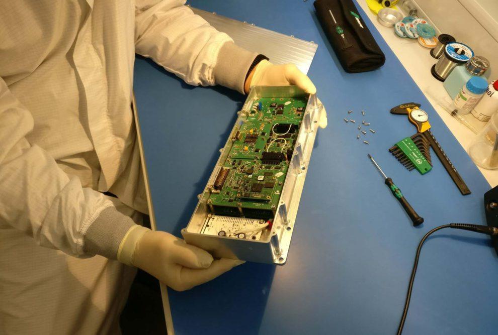 Caja electrónica del Photobiorreactor desarrollada por GTD.
