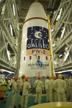 Lanzados con éxito 2 nuevos satélites constelación Galileo