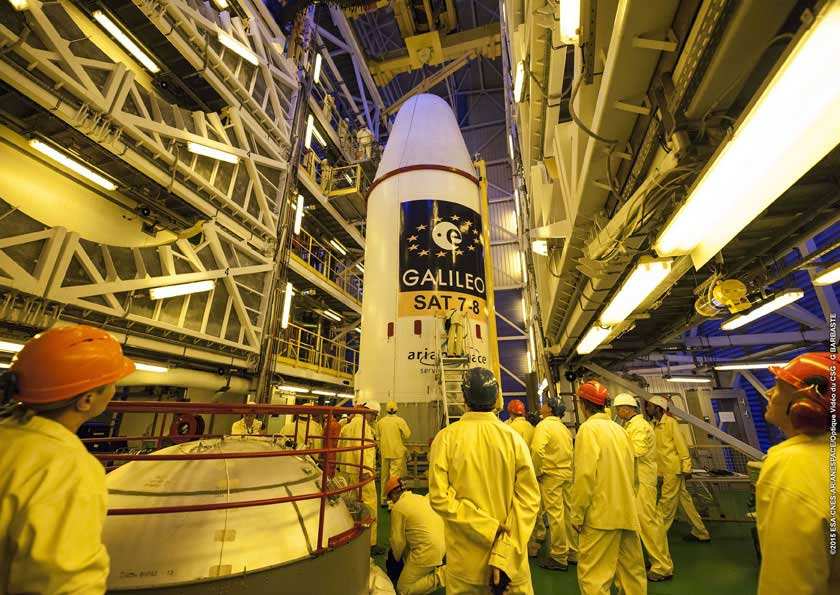 La red de satélites Galileo debería estar operativa en 2020