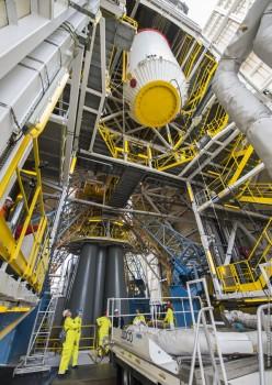 Todo listo en Kourou para el lanzamiento de los satélites 9 y 10 de Galileo.