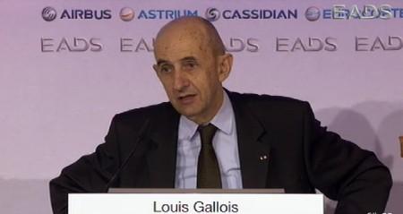 Louis Gallois presenta los resultados de EADS