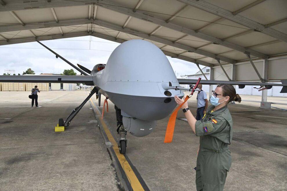 General Atomics Predator del Ejércio del Aire.