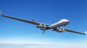 Aspecto que tendrán los Protector de la RAF armados con 12 misiles Brimstone y dos bombas Paveway IV.