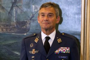 General del Aire Miguel Ángel Villarroya, nuevo jefe del Estado Mayor de la Defensa.