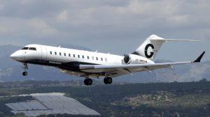 Bombardier Global 6000 EC-MMD, uno de los aviones en la flota de Gestair.