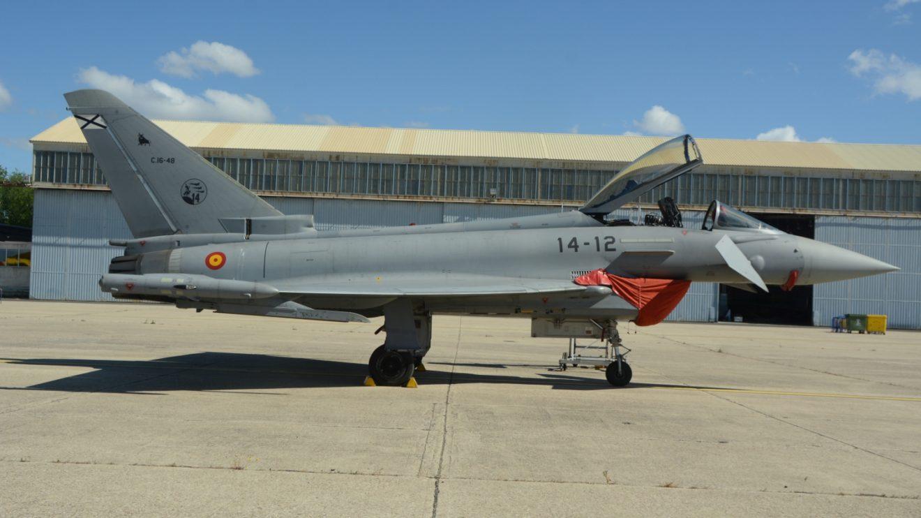 Los Eurofighter del Ejército del Aire español se reparten entre las Alas 11 y 14.