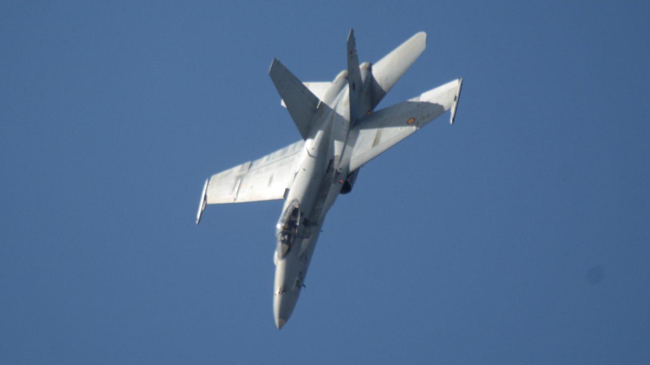 El 10 de julio de 1986 llegaron a Zaragoza los cuatro primeros F/A18 del Ejército del Aire. Hoy operan 84 repartidos en tres alas.