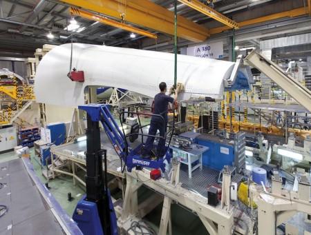 factoría de Airbus en Getafe