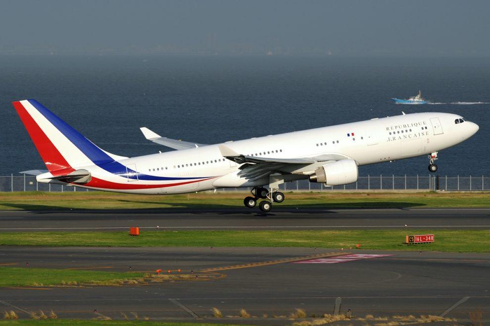Airbus A330 del Gobierno francés usado, principalmente, para transporte VIP al que se unirán los tres ahora comprados.