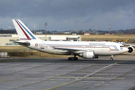 Uno de los Airbus A310 que el Ejército del Aire francés retirará con la llegada de los nuevos A330.