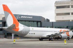 El pedido de nueve Boeing 737 MAX de Gol es parte de las 31 ventas en julio.