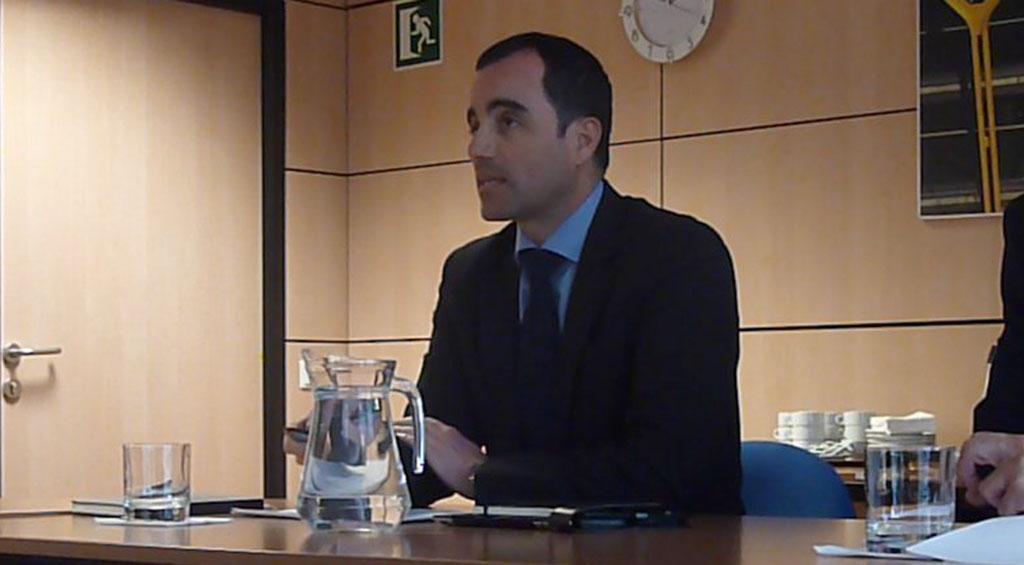 Ignacio González director genrral de Navegación Aérea