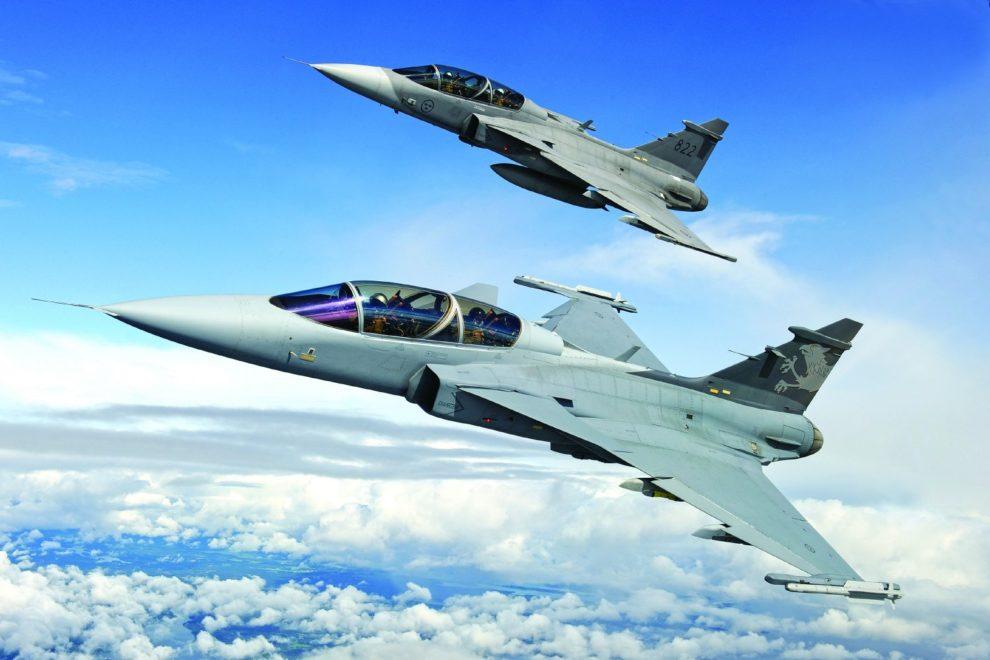 El Gripen E/F es la apuesta de Saab para continuar en el mercado de los aviones de combate en el futuro.