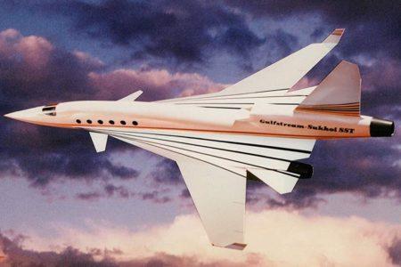 Así iba a ser el reactor ejecutivo de Gulfstream y Sukhoi.
