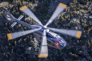 Airbus Helicopters ha realizado ya casi la mitad de los ensayos en vuelo precisos para la certificación del nuevo rotor del H145. Una parte de estos se han efectuado en España.
