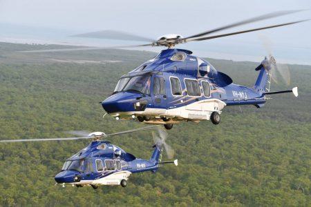 Entre las entregas de Airbus Helicopters en 2017 están estos dos H175 para Babcock Australia, los primeros del modelo en el hemisferio sur.