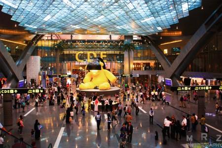 Aeropuerto Internacional de Hamad, el hub de Qatar Airways en Doha