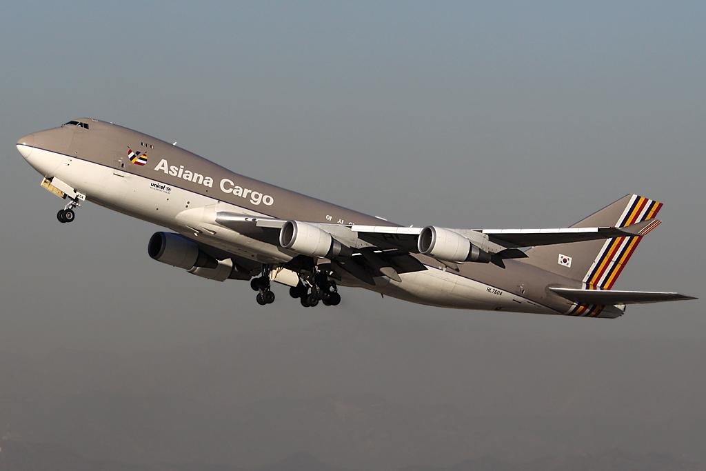 Boeing 747-400F HL-7604