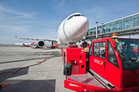 En el último concurso de licencias de handling de rampa a terceros de Aena, Iberia logró licencias en 17 de los 20 aeropuertos a los que se presentó.