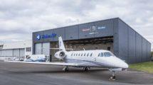 Uno de los dos Citation Sovereign operados por Hahn Air en sus vuelos.