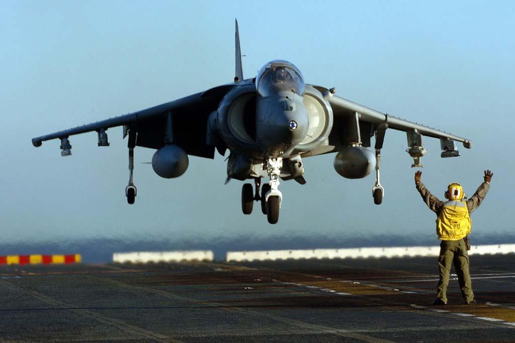 De todos los aviones de despegue y aterrizaje vertical diseñados el Harrier fue el único, junto al YAK-38 soviético, que entró en servicio.