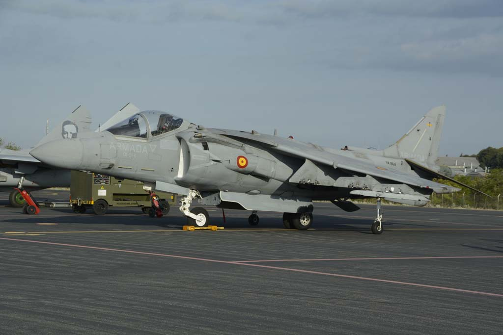 Los Harrier españoles todavía tiene varios años de vida operativa,, pero ya es necesario in estudiando su sustitución.