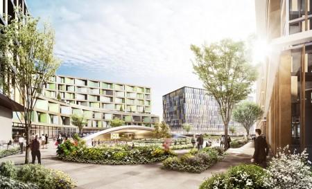 Proyecto de nuevos edificios para hoteles, zonas comerciales y oficinas junto a la T5 de heathrow