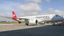 Embraer entregó en el primer trimestre de 2020 el tercer E190-E2 de Helvetic.