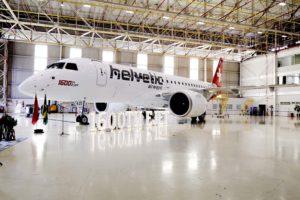 Entrega a Helvetic de su nuevo Embraer E-Jet-E2.q