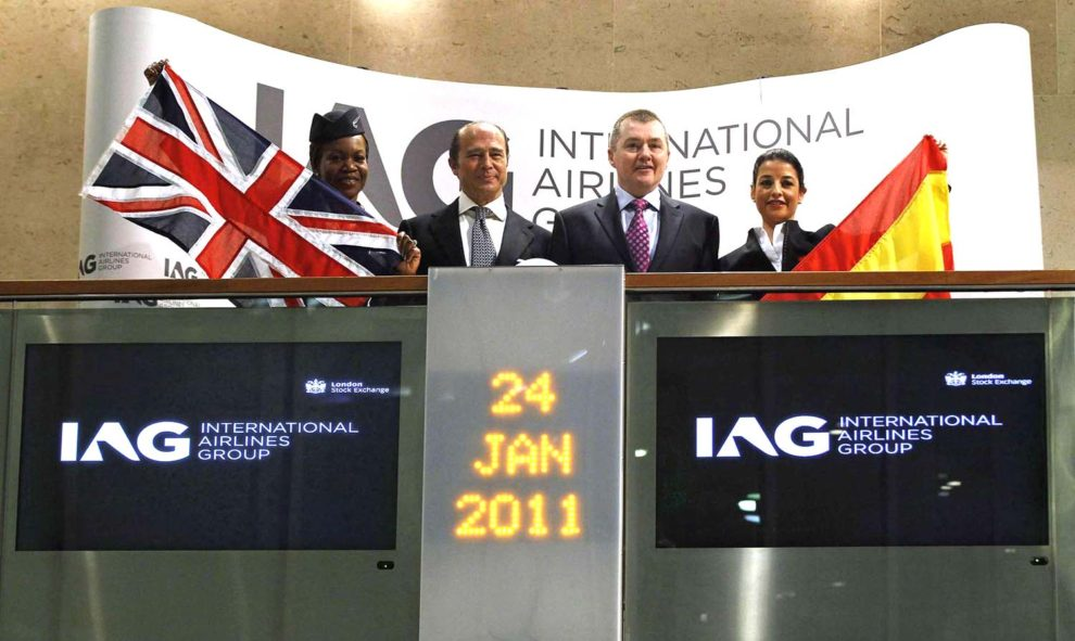 Salida a bosa de IAG en 2011.