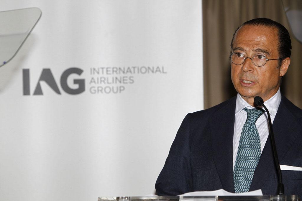 Antonio Vázquez, presidente de IAG.