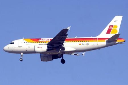 Airbus A319 de Iberia