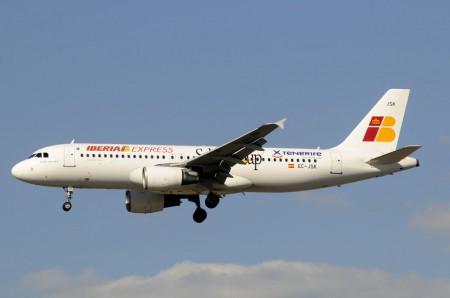 Airbus A320 de Iberia Express.